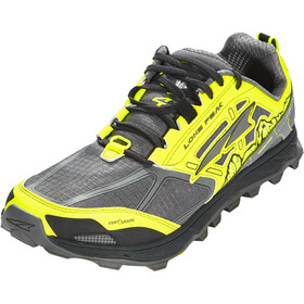 Altra Lone Peak 4 Running Shoes Herr gray/yellow